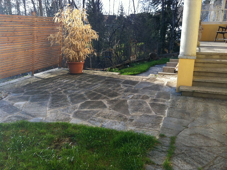 Sanierung Gartensitzplatz Fahrwangen