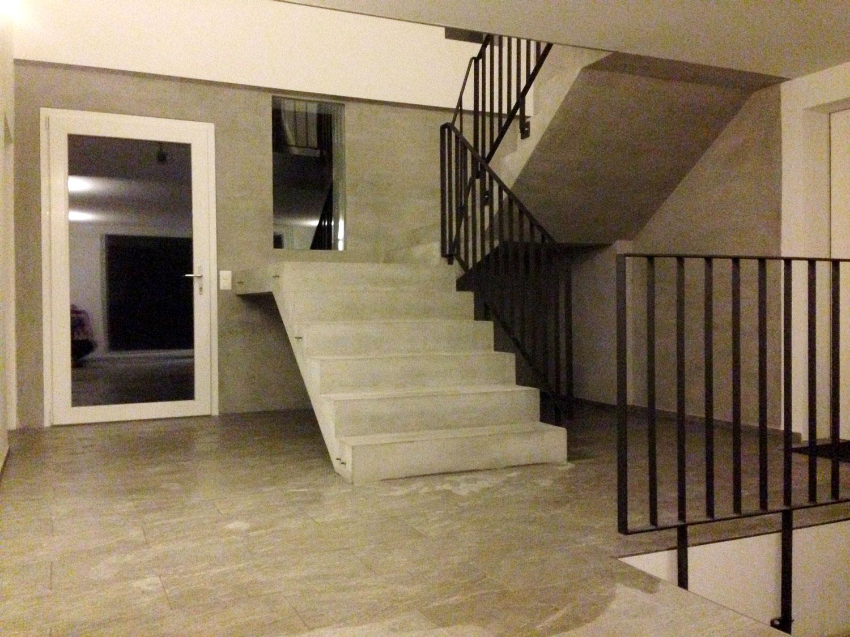 Sichtbeton Treppe Fahrwangen